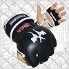 FIGHTERS - MMA Handschuhe / Elite / Schwarz / Small