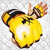 FIGHTERS - MMA Handschuhe / Elite / Gelb / Medium