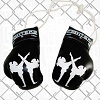 FIGHT-FIT - Mini Boxing Gloves / Fighters / Black
