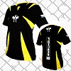 FIGHTERS - Kick-Boxing Shirt / Competition / Schwarz / XS