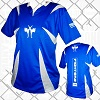 FIGHTERS - Kick-Boxing Shirt / Competition / Blau / XXS
