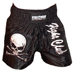 FIGHTERS - Muay Thai Shorts / Fight Club / Noir / XS